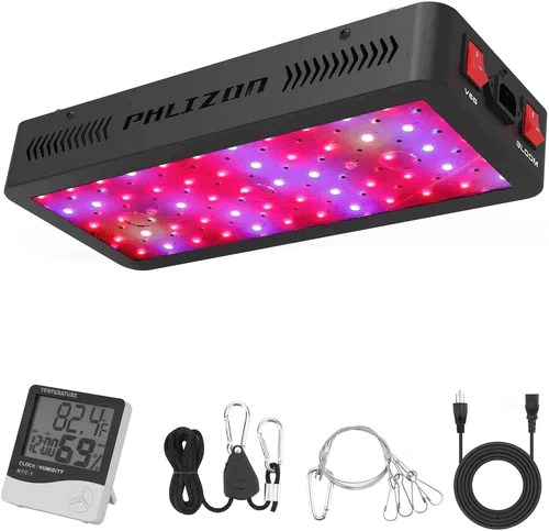 Newest LED Plant Grow Light Double Switch Plant Light for Indoor Plants