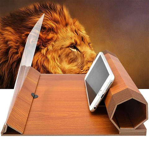 Mobile Phone 3D Screen Video Magnifier
