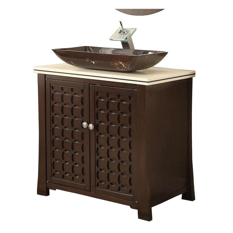 30 bathroom vanity modern style vessel sink giovanni bathroom sink vanity hf339