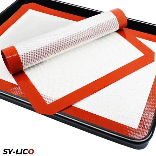 tapis de cuisson silicone blanc