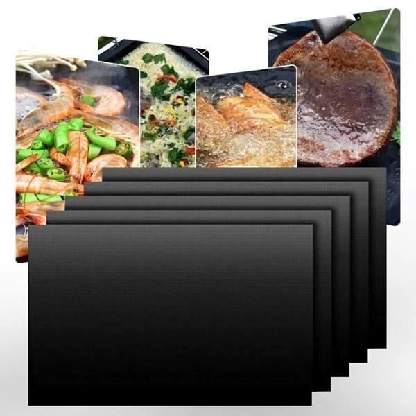 tapis de cuisson teflon plancha et barbecue