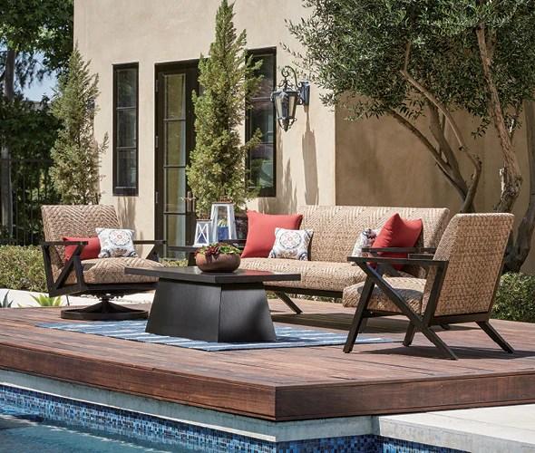 outdoor lounge furniture deep seating