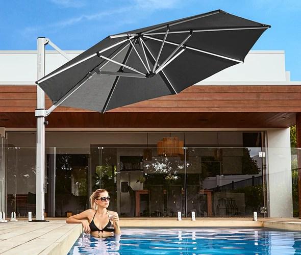 large patio umbrellas from ski barn in