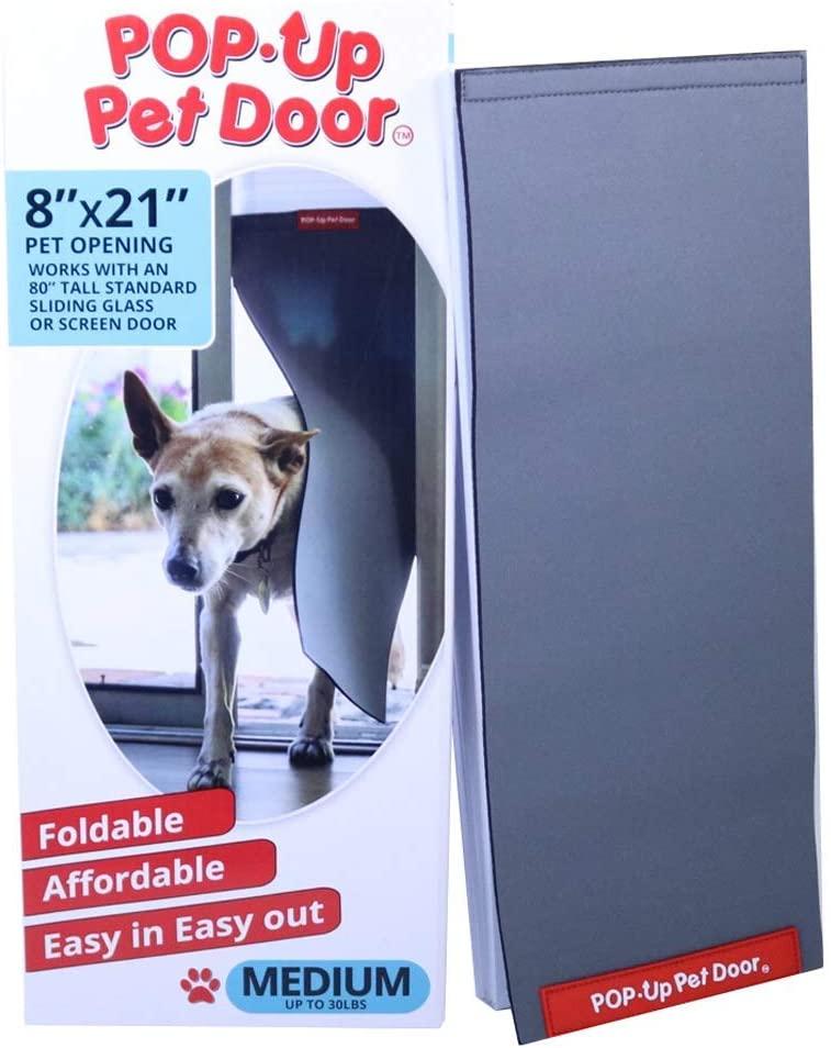 best ever pet door insert for sliding glass and screen doors