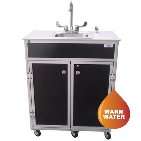 monsam nsf certified deep single basin 10 portable hand wash sink ns 009