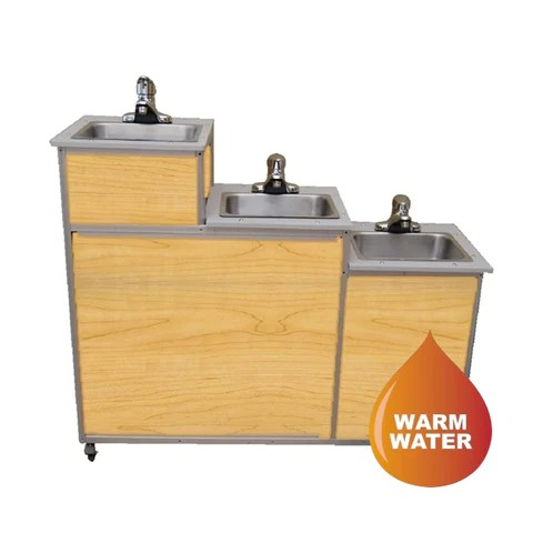 monsam three level portable self contained sink pse 0123