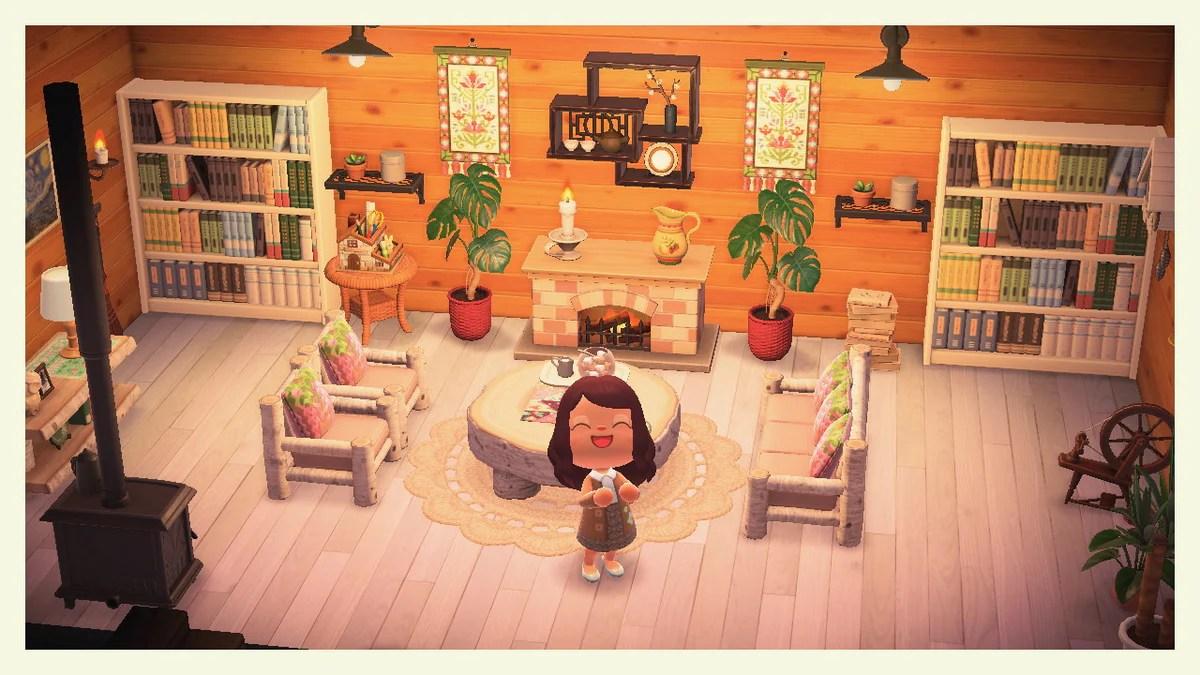 Animal Crossing: New Horizons ?️: Set - Cottagecore Living ... on Animal Crossing New Horizons Living Room  id=75874