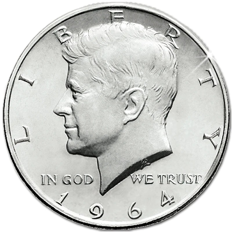 John F Kennedy Memorial Coin