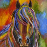 Awesome Colorful Horse Diamond Painting Kit Meiiss Diamond Painting