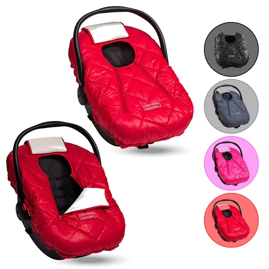 Cozy Cover Premium Infant Car Seat Cover With Warm And Soft Polar Flee Cozy Baby Creative Solutions For Growing Families