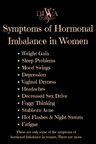 Hormonal imblances in women