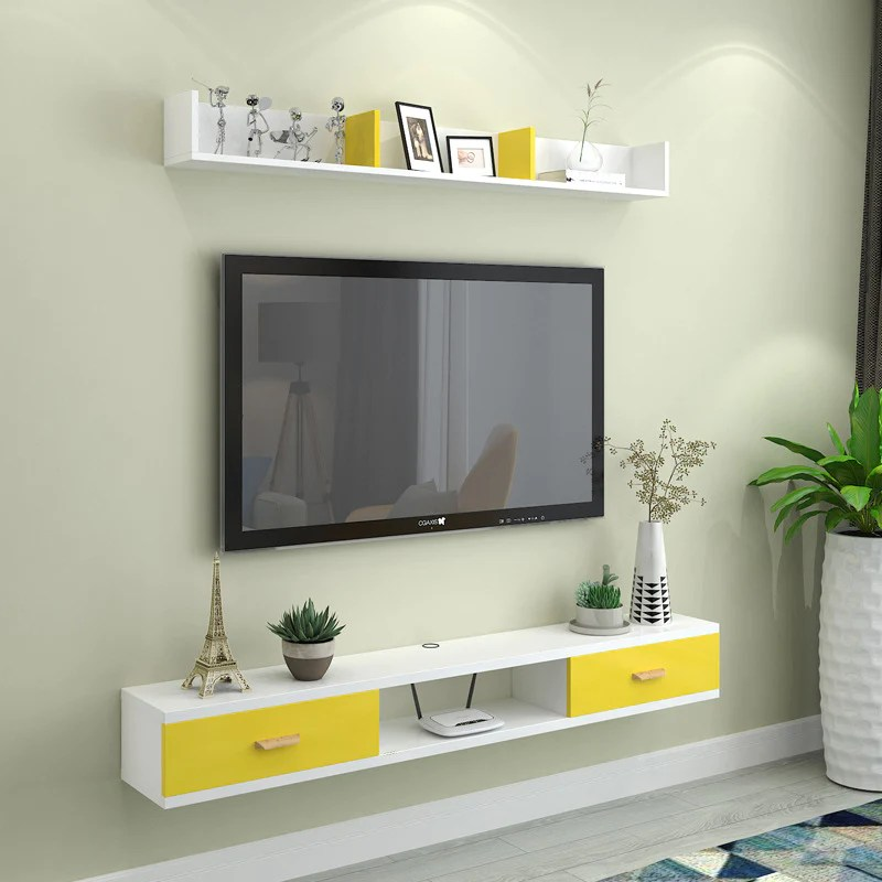Modern Minimalist Wall Mounted Tv Cabinet Living Room Bedroom Simple R Kartzapper Com