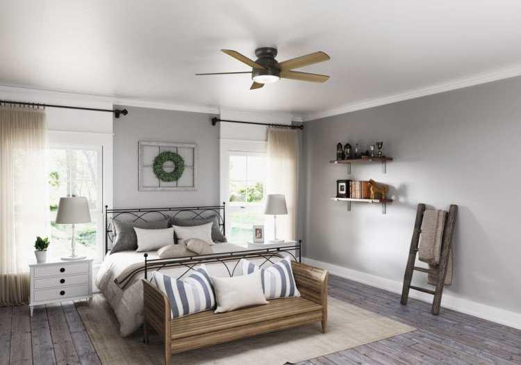 Bedroom Ceiling Fan Ideas To Transform Your Space Hunter Fan