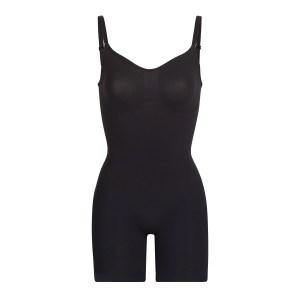 SKIMS Sculpting Bodysuit Mid Thigh Shapewear - Black - Size 4XL/5XL