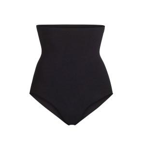 SKIMS Women's Sculpting High Waist Brief Shapewear - Black - Size 4XL/5XL