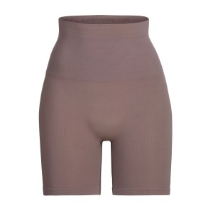 SKIMS Core Control Short Mid Thigh Shapewear - Purple - Size 4XL/5XL