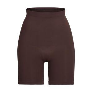 SKIMS Sculpting Short Mid Thigh Shapewear - Brown - Size 4XL/5XL