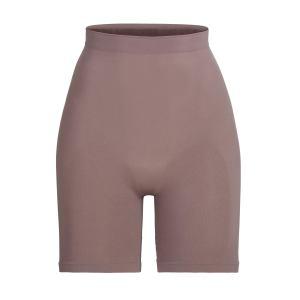 SKIMS Sculpting Short Mid Thigh Shapewear - Purple - Size 4XL/5XL