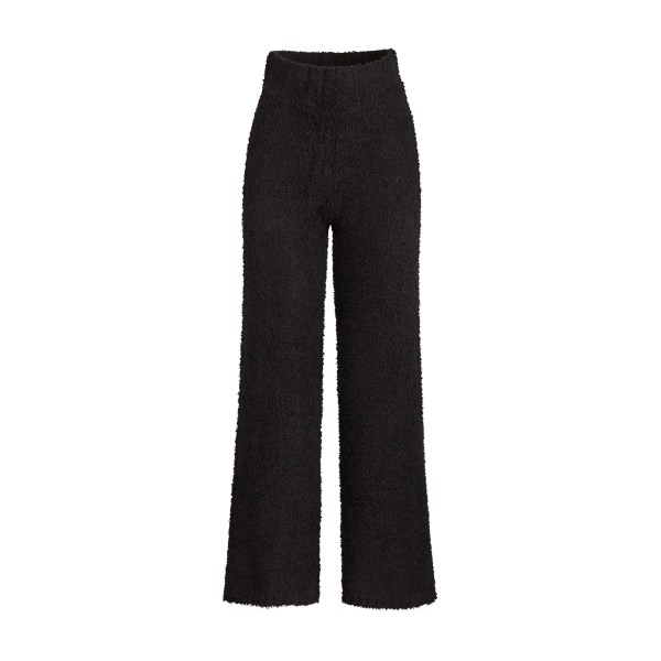 SKIMS Women's Cozy Knit Pant - Black - Size 4XL/5XL