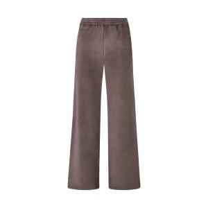 SKIMS Women's Velour Wide Leg Pant - Brown - Size XXS
