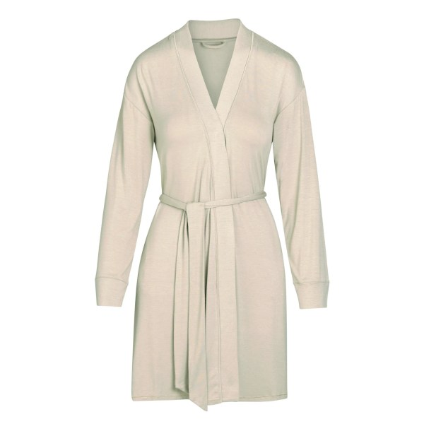 SKIMS Women's Sleep Robe - TAUPE - Size 4XL