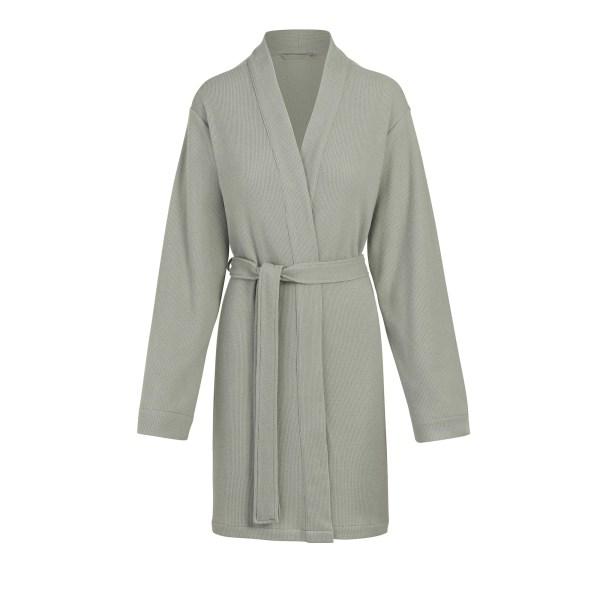 SKIMS Women's Waffle Robe - Blue - Size 4XL