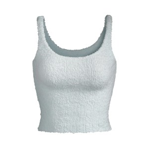 SKIMS Women's Cozy Knit Tank - AQUA - Size XXS/XS