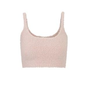 SKIMS Wireless Cozy Knit Bralette - Pink - Size XXS/XS