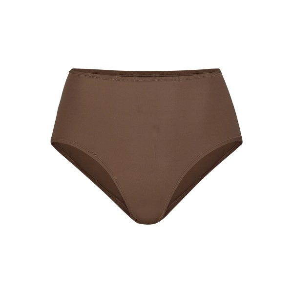 SKIMS Women's Fits Everybody Full Brief Panties - Brown - Size 4XL