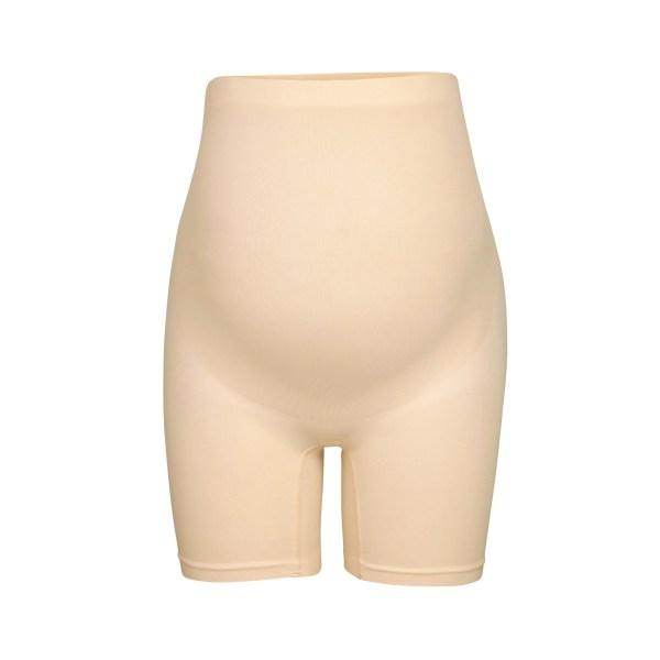 SKIMS Maternity Sculpting Short Mid Thigh - Nude - Size 4XL/5XL