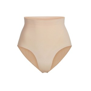 SKIMS Women's Sculpting Mid Waist Brief Shapewear - Nude - Size XXS/XS