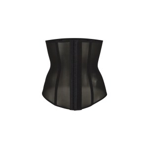 SKIMS Power Mesh Waist Trainer - Black - Size 4XL