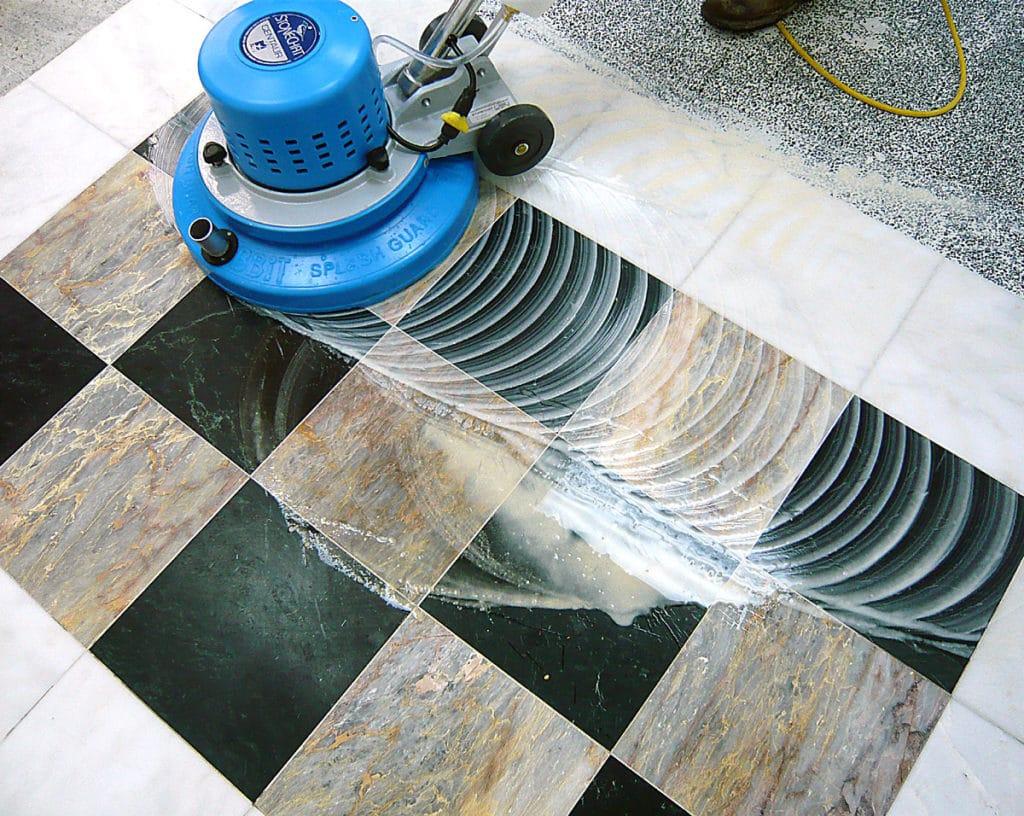 polishing your marble floor