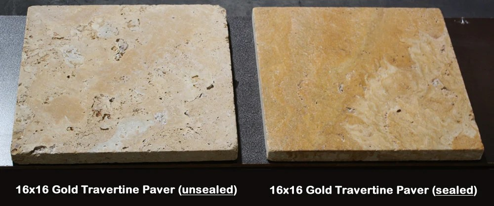 travertine sealers pros and cons types