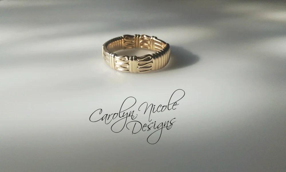 Carolyn Nicole Designs Presidents Wedding Ring By