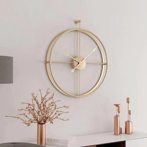 orologio da parete design moderno loto. Orologio Da Parete Moderno Con Design Silenzioso
