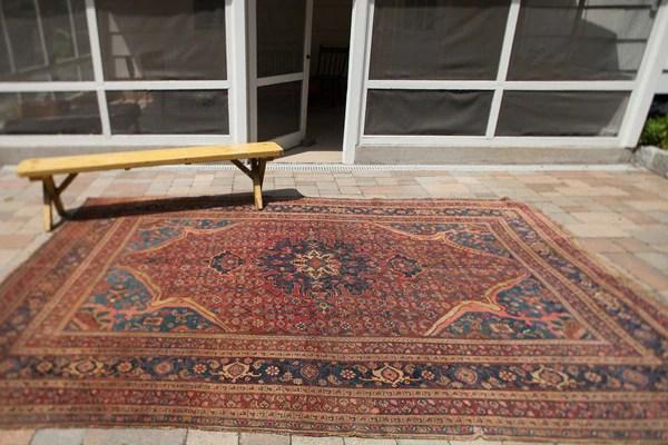 Fine antique Persian Bijar great colors
