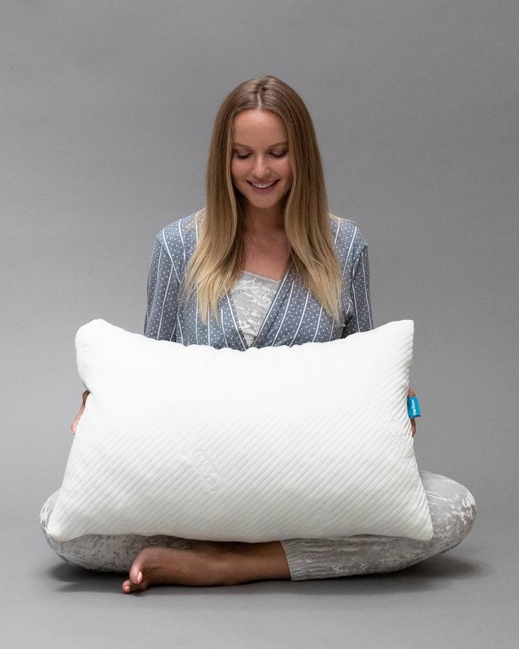 cbd pillow cbd oil infused memory foam bed pillow