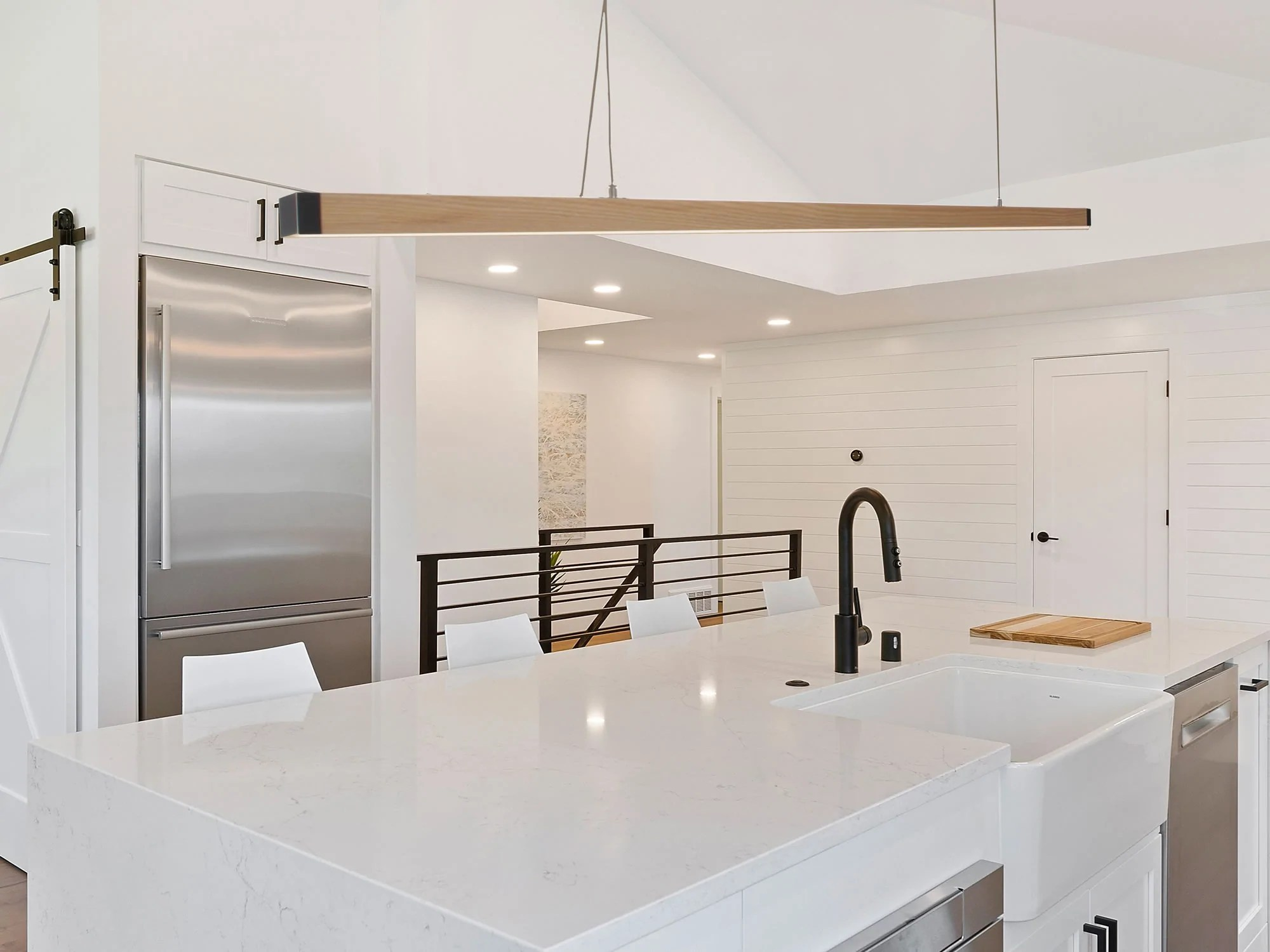 zenvida 1 light led modern kitchen