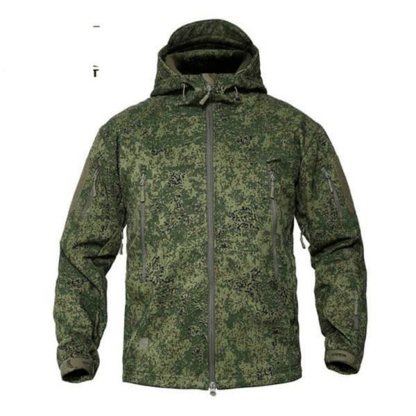 تحجر الميثان يشل veste camouflage homme
