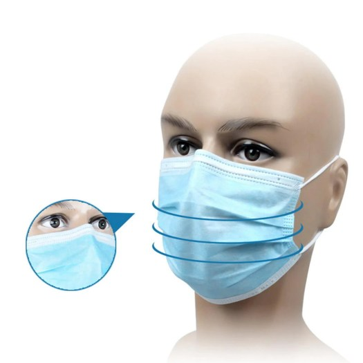 20Pcs Disposable Masks Mouth Face Mask Dust-Proof Personal ...