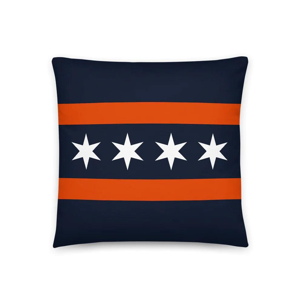 football flag throw pillow deepdishtees