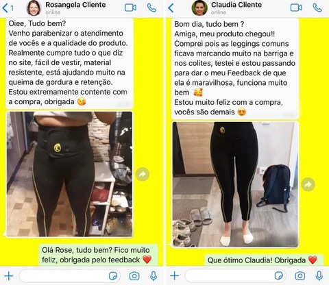LEGGING COM CINTA MODELADORA - LEGGING POWER FIT®