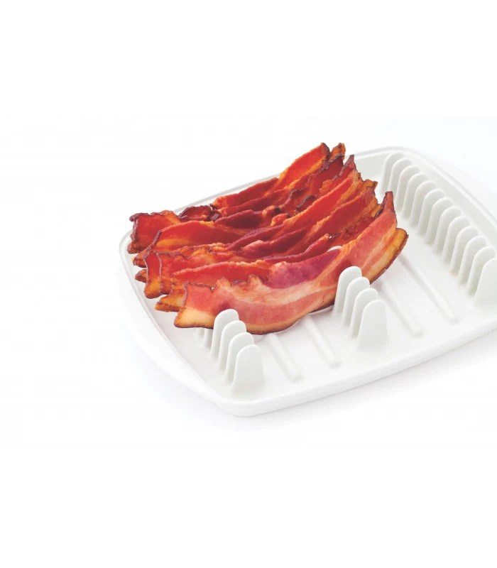 microwave vertical bacon tray