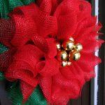 Poinsettia Mesh Wreath Tutorial Trendy Tree