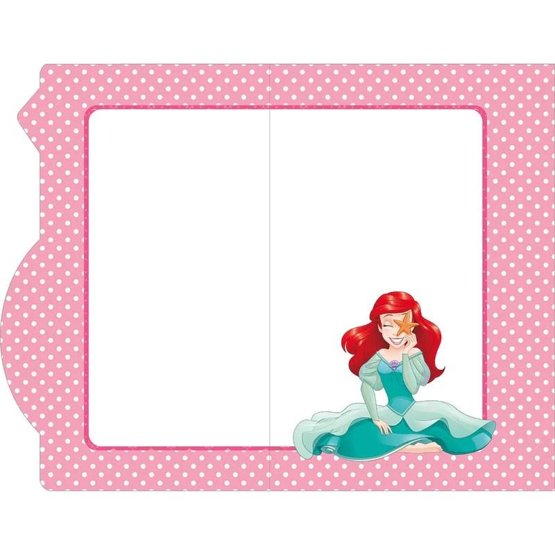carte anniversaire 5 ans princesses disney