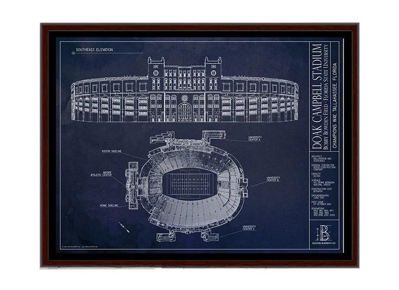Doak Campbell Stadium Prints