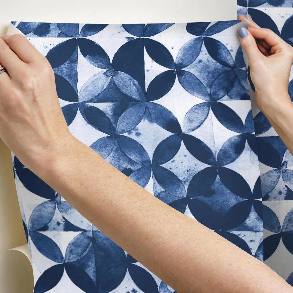 paul brent moroccan tile peel and stick wallpaper
