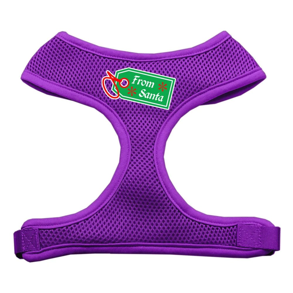 From Santa Soft Mesh Dog Harness 4 Paws Pet Stuff
