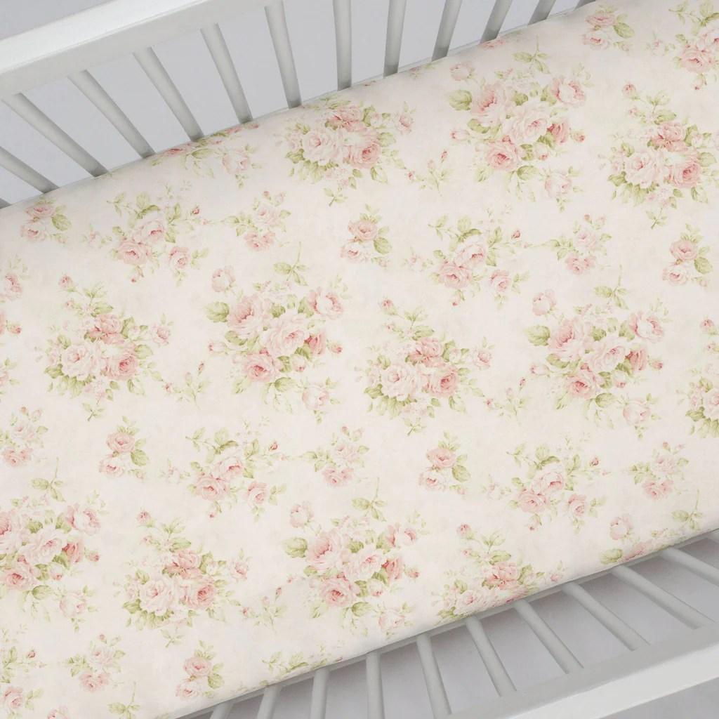 crib sheets tagged floral